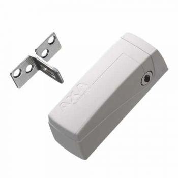 AXA Veiligheids raam oplegslot 3016, wit met cilinderslot buitendraaiend, SKG**®
