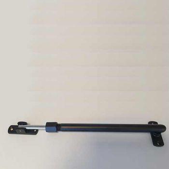 Raamuitzetter telescopisch Black-Line, zwart