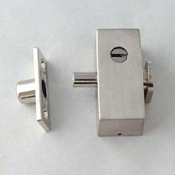 Oplegslot met cilinder SKG* mat nikkel, buitendraaiend